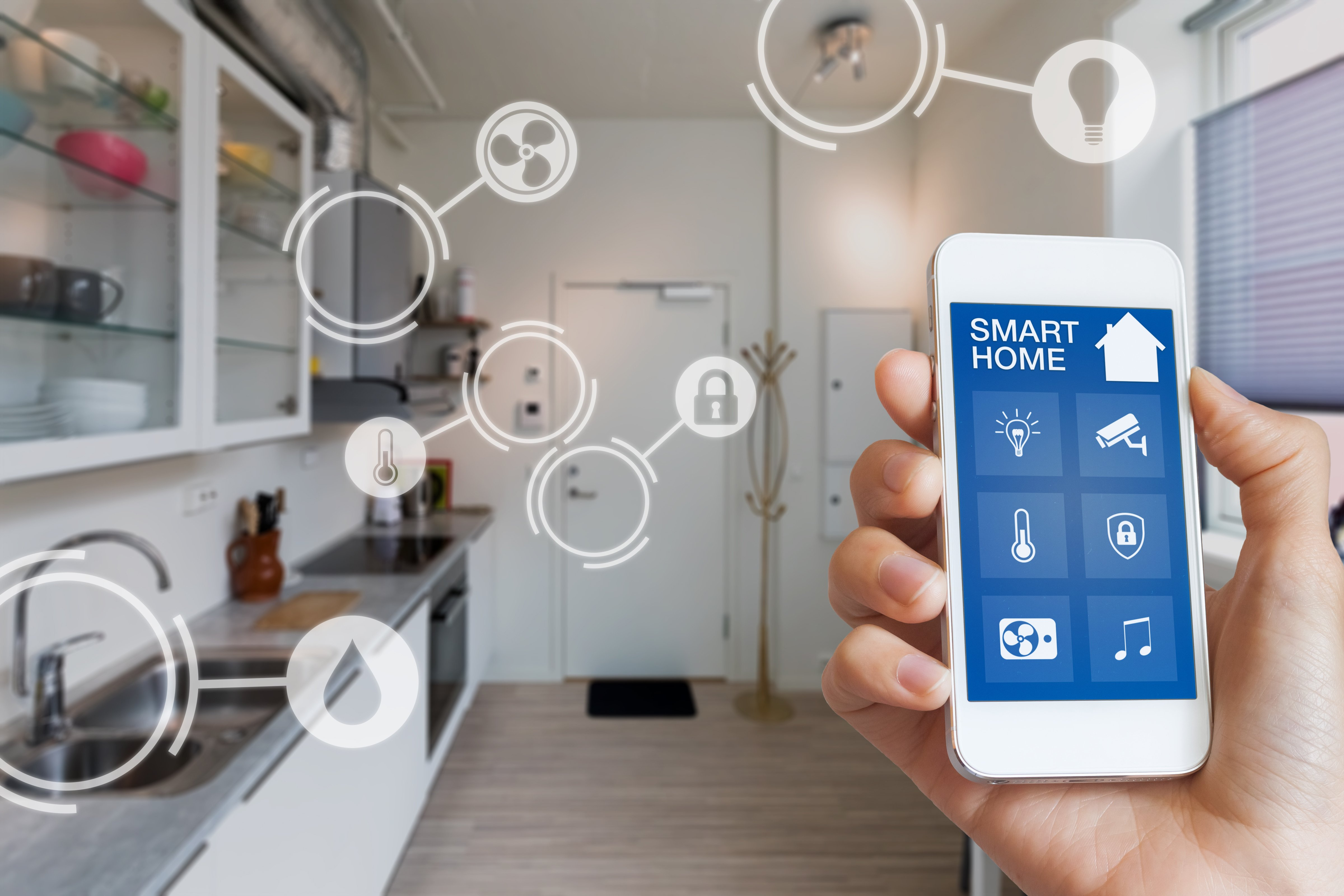 smart home kitchen phone 1